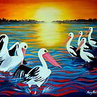 Marlo Sunset by Marg Pearson