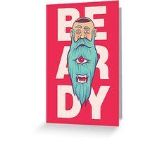 Beardy Greeting Card