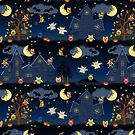 halloween owls by Ancello