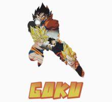 Goku DBZ w/ Title T-Shirt