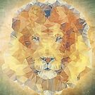 abstract lion by Ancello