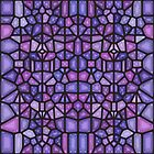 Purple rain - Voronoi by enriquev242