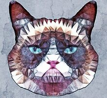 abstract cat by Ancello