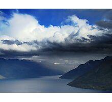 Storm On Wakatipu Photographic Print