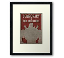 Liberty Prime Framed Print