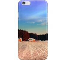 Amazing vivid winter wonderland | landscape photography iPhone Case/Skin