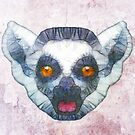 abstract lemur by Ancello