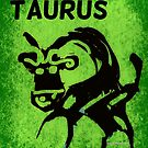 Taurus The Bull by Kater