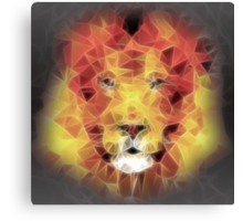 abstract lion 2 Canvas Print