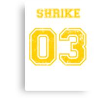 Team Captain: Shrike Canvas Print