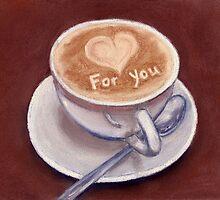 Caffe Latte by Anastasiya Malakhova