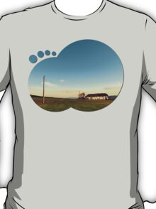 The serenity of countryside life | landscape photography T-Shirt