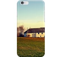 The serenity of countryside life | landscape photography iPhone Case/Skin