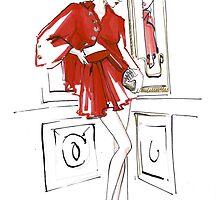 Saskia de Brauw for Vogue Paris by meliquestreet