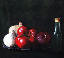 Tomatoes and Onions by Anastasiya Malakhova