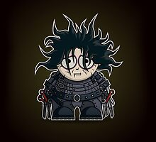 Mini Edward Scissorhands by Adam Miconi