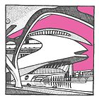 Valencia - City of Arts and Sciences by Emma Bennett