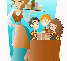 At The Three Broomsticks by JenniferMark