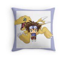Chibi Tai Throw Pillow