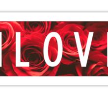 InLove Block Top Sticker