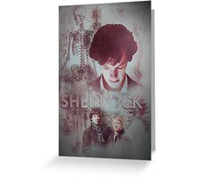 BBC Sherlock IPhone Case Greeting Card