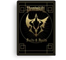 Pentakill - Smite&Ignite Canvas Print