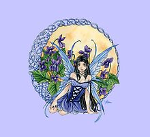 Celtic Violet Fairy by meredithdillman