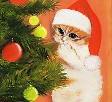 Christmas Kitty by Anastasiya Malakhova