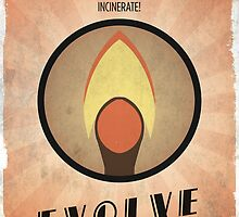 Bioshock Plasmid Incinerate - Evolve Today by dylanwest2010