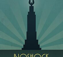 Bioshock There Is Always A Lighthouse by dylanwest2010