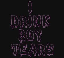 I Drink Boy Tears by meridaone