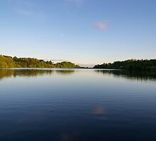Jumbles Reservoir; Sunshine & Shadows. by Dave Staton