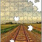 Railroad Jigsaw by Aheroy