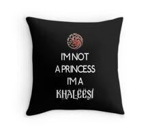 Khaleesi (dark) Throw Pillow