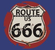 ROUTE 666 by karmadesigner