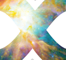 Heart of Orion Nebula | Infinity Symbol | Fresh Universe Sticker