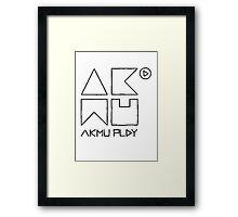 Akdong Musician  Framed Print