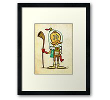 Alphorn Champion 1908 Framed Print
