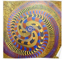 Spiraling Vision Within Poster