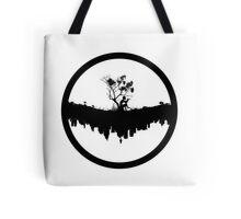 Urban Faun - Black on White Tote Bag