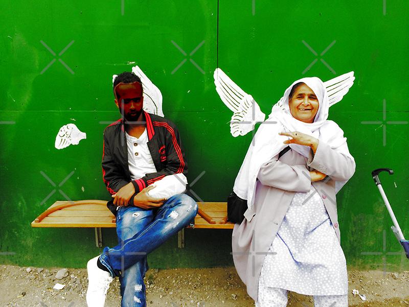 Angels in disguise by HeklaHekla