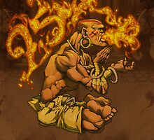 Dhalsim 25 by ketsuo
