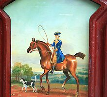 George Washington As Call Box Art by Cora Wandel