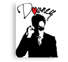 SHADES RDJ Canvas Print