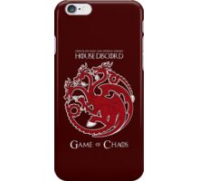 House Discord - Game of Chaos iPhone Case/Skin