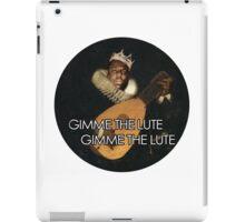 Biggie Lute iPad Case/Skin