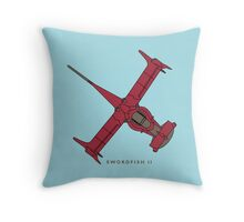 Cowboy Bebop - Swordfish II Throw Pillow