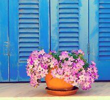 Blue & Purple by EvaMarIza