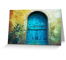 Secret Door Greeting Card