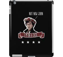 Sherlock on a case iPad Case/Skin